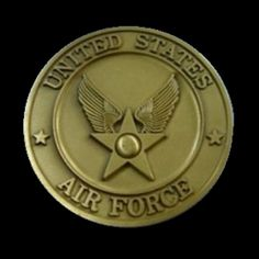 UNITED STATES AIR FORCE HUGE Custom US Metal Challenge COIN
