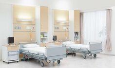 スタッフステーション,病棟部門,看護師,休憩室,カンファレンス,説明室,病室,ダイニング・デイルーム,ホスピタルベッド,マルチヴァント,居室,療養室,アリアーテフィネスタ,ベッドサイドチェア
