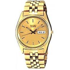 Hoppe Jewelers - SEIKO GNTS YLW BRAC/DIAL W/DAY&DATE QTZ WATCH, $214.0 (http://www.hoppejewelers.com/seiko-gnts-ylw-brac-dial-w-day-date-qtz-watch/)