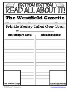 Frindle Newspaper