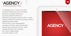 WordPress - AGENCY X - Premium WordPress Theme | ThemeForest