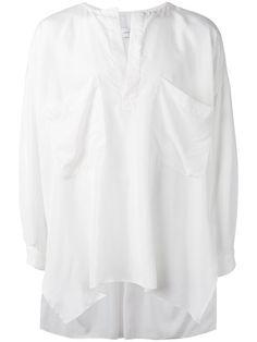 FAITH CONNEXION Oversized Collarless Shirt. #faithconnexion #cloth #shirt