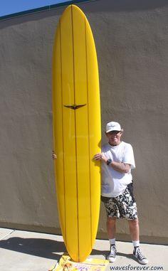 Skip Frye Surfboards 10'3″ Egg (SOLD) | Waves Forever