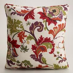 Campione Multicolor Throw Pillow, $21.00