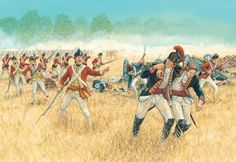 The battle of Freeman's Farm September 1777; American Revolutionary War