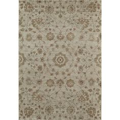"""The Conestoga Trading Co. Tan Area Rug Rug Size: Runner 2'3"""" x 7'10"""""""