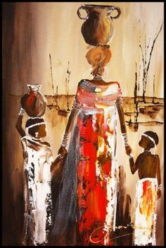 Purchase artwork Guiding the Children - Mixed Media by South African Artist Jen Adam