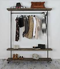 I Love The Look Of This Clothing Rack. BOX CART INDUSTRIAL GARMENT RACK    Oilfield Slang | Bathroom: Keep It Organized | Pinterest | Garment Racks,  ...