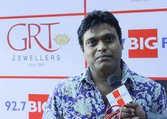 Harris Jayaraj at red carpet