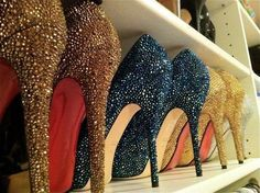 I want all these shoes!!! #sexy #heels