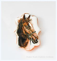 Horse Portrait Horse Portrait Horse Portrait #featured-cakes #cookies #royal-icing #nfsc #decocookies #cakecentral