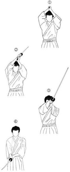 Drawing Techniques Japanese Sword Training Basics - The basics of Japanese sword training explained. From standard techniques, styles, kata, etiquette and much