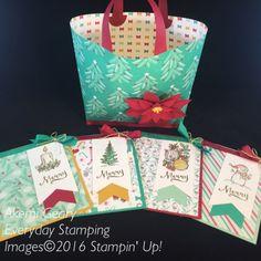 Stampin' Up! プレゼント&パインコーン デザイナーシリーズ・ペーパー(その1)|Everyday Stamping 〜スタンピン・アップ ! 癒しのペーパークラフト〜