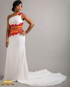 Robes de mariée inspiration pagne | blackNwed
