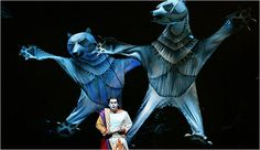 Julie Taymor puppets from The Magic Flute