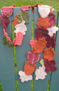 I think this is cute, and I might be able to put together with the scraps leftover from other wool projects