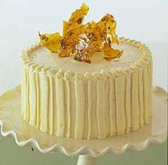 Pistachio Cake with White Chocolate Buttercream