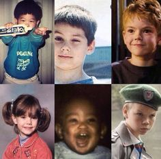 ERMIGERSH BABY GLADERS<<< OH KLUNK THEY ARE SOOOO CUTE!!!!!!>>> THOMAS BRODIE SANGSTER AS A BABY THOUGH>>>AAAAHH CUTENESS OVERLOAD