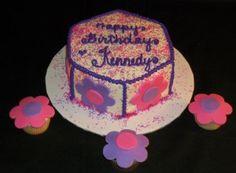 Hexagon cake!!