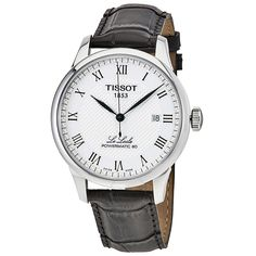 Tissot Le Locle Powermatic 80 Automatic Men's Watch T0064071603300 - Le Locle - T-Classic - Tissot - Watches - Jomashop
