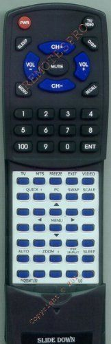 ILO Replacement Remote Control for P42BSMTU32 by Redi-Remote. $44.95. This is a custom built replacement remote made by Redi Remote for the ILO remote control number P42BSMTU32.  This remote control is compatible with the following models of ILO units:   P42BSMTU32