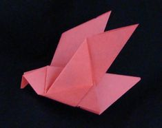 A whole collection of origami bird instructions, organized by the type of bird. Simple ones, complex ones, ones made from dollar bills. This is exactly what I need!