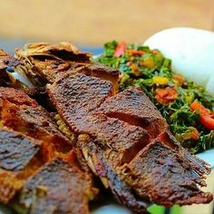 Nigerian Food, Steak, Steaks, Beef