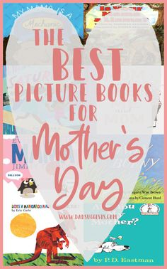 Discover the best picture books about moms to share on Mother's Day. The books on this list are creative, beautiful, and do a great job highlighting the special relationship between mother and child. Books For Moms, New Children's Books, Good Books, Mother Pictures, Cool Pictures, Are You My Mother, Old Book Crafts, Mothers Of Boys, Mother's Day Activities
