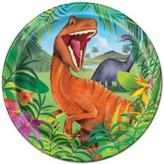 Dinosaur Lunch Plates (8)