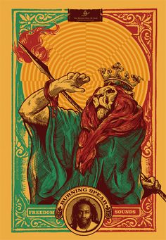 Reggae Hall Of Fame - Burning Spear Selected Poster