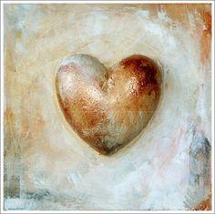 """""""heart again"""" acrylic on canvas"""
