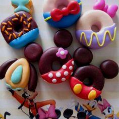 Disney inspired mini donuts