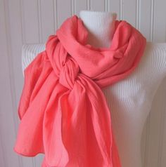 side twist scarf