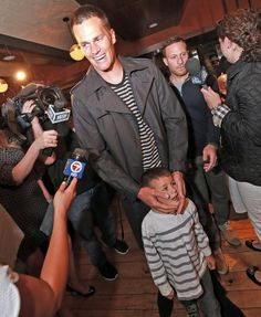 at Danny Amendola's Celebrity Waiter Night to benefit Catches for Kids (6/11/14)