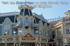 The Emporium is actually one gigantic store that takes up the entire length of Main Street.  Be sure to stop in when you visit Disney World!
