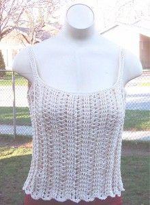 Make It Crochet | Your Daily Dose of Crochet Beauty | Free Crochet Pattern: Sweetie Pie Cami