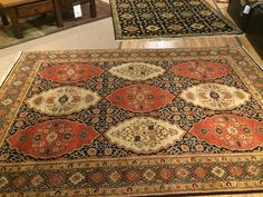 Beautiful Moroccan Style Hand Knotted Rug, Sold HOM Furniture, Onalaska