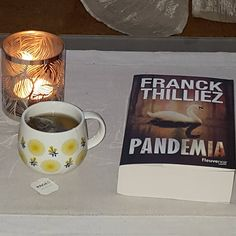 Pandemia de FRanck Thilliez (source FB)(photo: Géraldine Daden) #VendrediLecture