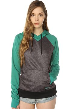 The Heron Hoody in Tidal Bore True Black by Burton. I want this hoodie!!!