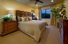 The master bedroom in Residence One of the Artisan Collection. — at Campanilla by Taylor Morrison.