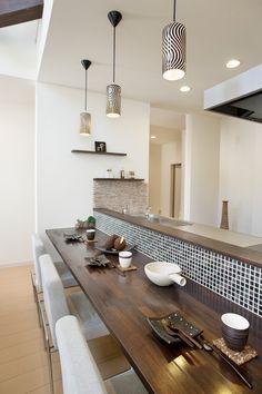 home interior design Cafe Interior, Kitchen Interior, Home Interior Design, Diy Kitchen, Kitchen Decor, Kitchen Design, Natural Interior, Kitchen Images, Home Kitchens