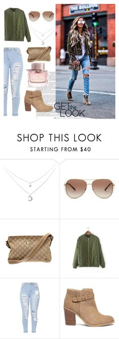 """""""Untitled #12"""" by jesslynn483 ❤ liked on Polyvore featuring Michael Kors, Gucci, Sole Society and Burberry"""