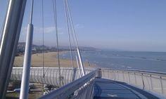 Ponte del mare - Pescara  http://www.uniquevisitor.it/abruzzo/mare/pescara/foto-ponte-del-mare-e-lungomare-pescara.php