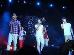 One Direction, Houston when I saw them
