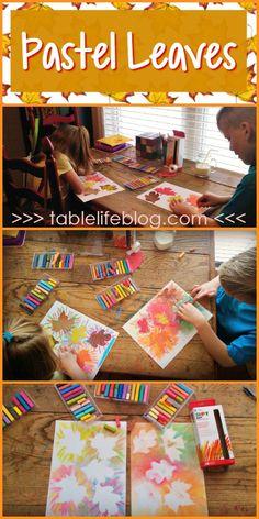 10 Fantastic Fall Art Projects for kids Thanksgiving Art Projects, Fall Art Projects, Toddler Art Projects, Projects For Kids, Diy Projects, Arte Elemental, Classe D'art, Chalk Pastel Art, Kindergarten Art Projects