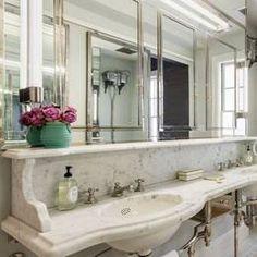 Uma Thurman's Fancy Marble Bathroom Is Perfect For Pinterest