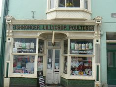 Tenby, Wales, GB~Old Fashioned Shop Front,Tenby~ photo by vw4y, via Flickr