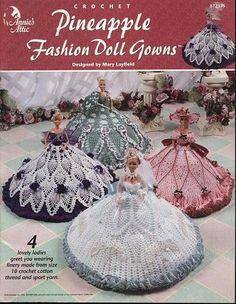 Image detail for -annie s attic pineapple fashion doll gowns jpg annie s attic