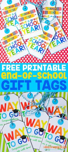 Check the way to make a special photo charms, and add it into your Pandora bracelets. Free Printable End-of-School Gift Tags Kindergarten Graduation Gift, Pre K Graduation, In Kindergarten, Graduation Ideas, Graduation Parties, Graduation Decorations, Teacher Gift Tags, Teacher Appreciation Gifts, Teacher Presents