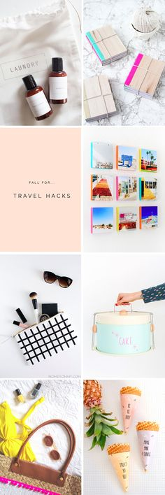 Travel hacks for those that DIY their holidays! Round up of the best tutorials to help you travel in style from fallfordiy.com